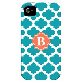 Trellis iPhone 4 Case in Turquoise