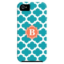 Trellis iPhone 5 Case in Turquoise