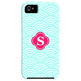 Waves Monogrammed iPhone 5 Case