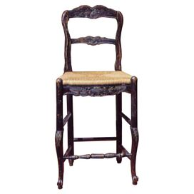 Lyon Barstool in Aged Black