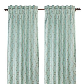 Axiom Silk Curtain Panel