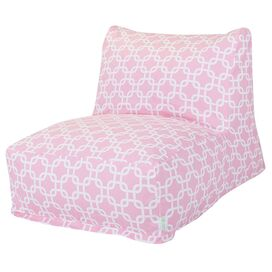 Links Lounger in Soft Pink