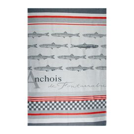 Anchois Tea Towel