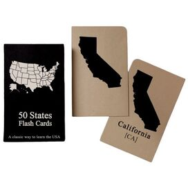 50 States Flash Cards