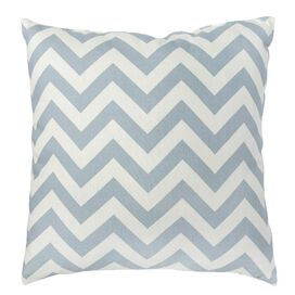 Zig Zag Pillow in Blue - Set of 2