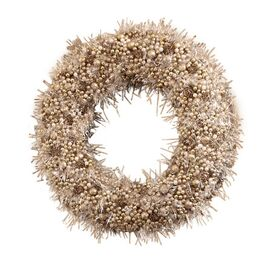 Faux Marion Pinecone Wreath