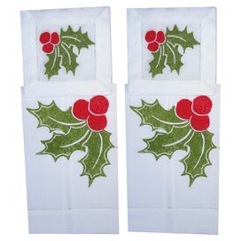 4 Piece Holly Bar Linen Set