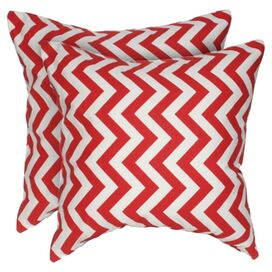 Chloe Pillow in Fire Engine Red