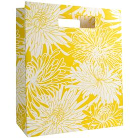 Mums Gift Bags in Yellow - Set of 6