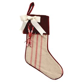 Candy Cane Stocking