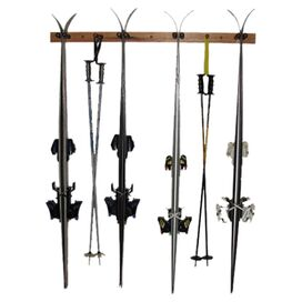 Dutton 4-Ski Vertical Wall Rack