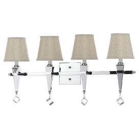 Margo 4-Bulb Vanity Light in Cream