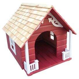 Truro Dog House in Red