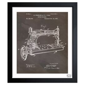 Oliver Gal & Co. Sewing Machine Framed Print
