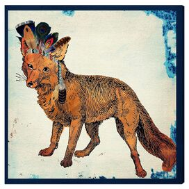 Wild Fox Canvas Print