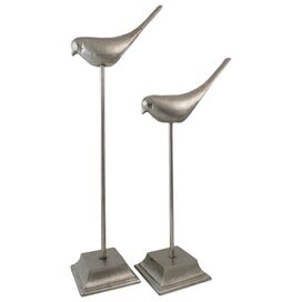 2-Piece Mabel Bird Statuette