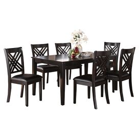 Aiden Dining Table in Deep Espresso