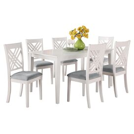 Aiden Dining Table in White