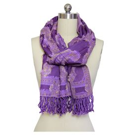 Therese Scarf in Purple