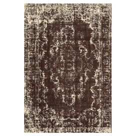 Azeri Rug in Dark Chocolate