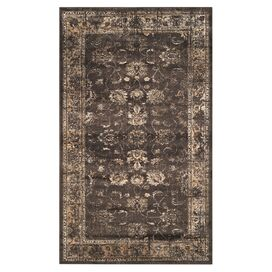 "Fantasia 5'3"" x 7'6"" Rug in Soft Anthracite"