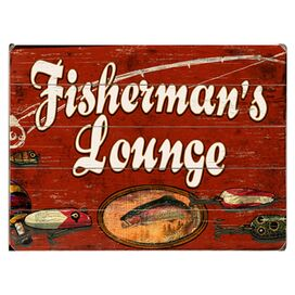 Fisherman's Lounge Wall Decor