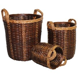 3-Piece Bay Street Basket Set