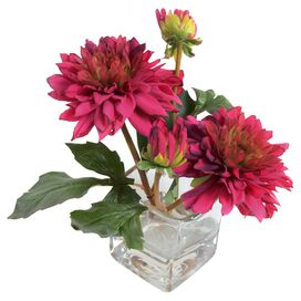 New Growth Designs Faux Dahlia Arrangement II