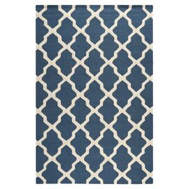 Meknes Rug in Navy