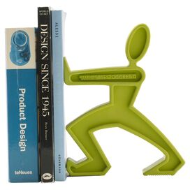 James Bookend in Lime