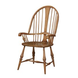 Hanscomb Arm Chair in Light Brown