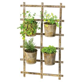 Ladder Rack Planter