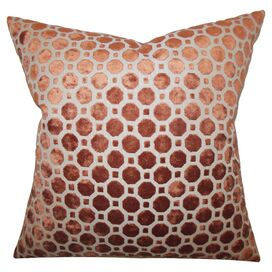 Anna Velvet Pillow in Copper