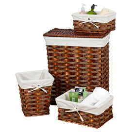 4-Piece Windsor Hamper & Storage Basket Set