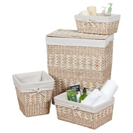 4-Piece Arcadia Hamper & Storage Basket Set