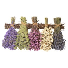Preserved Mixed Lavender Wall Decor