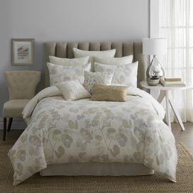4-Piece Leaves Comforter Set