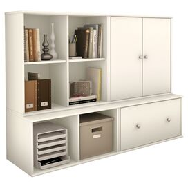 Allard Storage Unit in Pure White