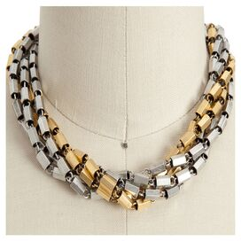 Milan Necklace in Mixed Metal