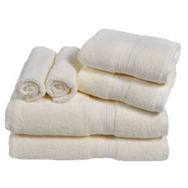6-Piece Linden Towel Set in Cameo