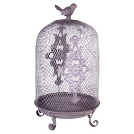 Sparrow Birdcage Decor
