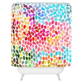 Rain 6 Shower Curtain