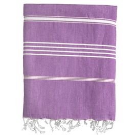 Castries Fouta Towel in Purple