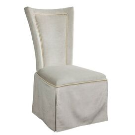 Allison Side Chair in Beach Grey