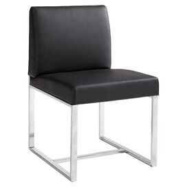 Rometty Side Chair in Black