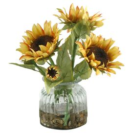 Faux Sunflower Arrangement