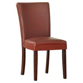 Olivia Side Chair in Lava Red