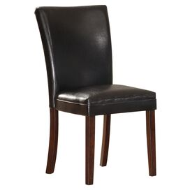 Olivia Side Chair in Dark Brown
