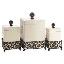 3-Piece Danbury Canister Set