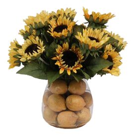 Faux Sunflower Arrangement I